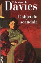 """Couverture du livre : """"L'objet du scandale"""""""