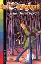 """Couverture du livre : """"Les microbes attaquent"""""""