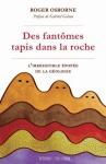 """Couverture du livre : """"Des fantômes tapis dans la roche"""""""