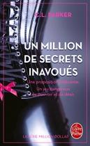 """Couverture du livre : """"Un million de secrets inavoués"""""""