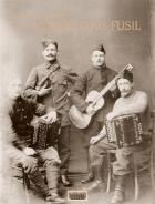 """Couverture du livre : """"La musique au fusil"""""""