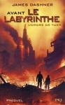 """Couverture du livre : """"Avant le Labyrinthe"""""""