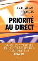 """Couverture du livre : """"Priorité au direct"""""""