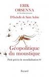 """Couverture du livre : """"Géopolitique du moustique"""""""