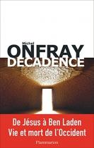 """Couverture du livre : """"Décadence"""""""