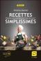 """Couverture du livre : """"Recettes simplissimes"""""""