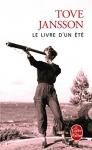"""Couverture du livre : """"Le livre d'un été"""""""