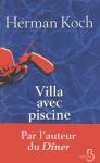 """Couverture du livre : """"Villa avec piscine"""""""