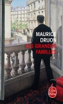 """Couverture du livre : """"Les grandes familles"""""""