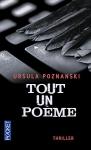 """Couverture du livre : """"Tout un poème"""""""