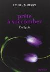 """Couverture du livre : """"Prête à succomber"""""""