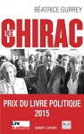 """Couverture du livre : """"Les Chirac"""""""