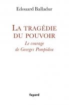 """Couverture du livre : """"La tragédie du pouvoir"""""""
