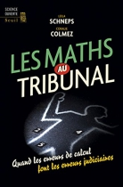 """Couverture du livre : """"Les maths au tribunal"""""""