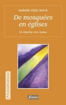 """Couverture du livre : """"De mosquées en églises"""""""