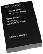 """Couverture du livre : """"Claude Monet, sa vie, son oeuvre"""""""
