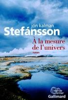 """Couverture du livre : """"À la mesure de l'univers"""""""