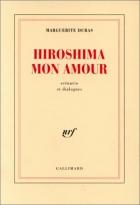 """Couverture du livre : """"Hiroshima mon amour"""""""