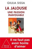 """Couverture du livre : """"La jalousie"""""""