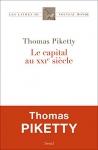 """Couverture du livre : """"Le capital au XXIe siècle"""""""