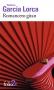 """Couverture du livre : """"Romancero gitan"""""""