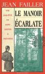 """Couverture du livre : """"Le manoir écarlate"""""""