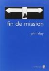 """Couverture du livre : """"Fin de mission"""""""