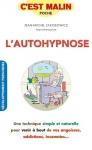 """Couverture du livre : """"L'autohypnose, c'est malin"""""""