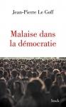 """Couverture du livre : """"Malaise dans la démocratie"""""""