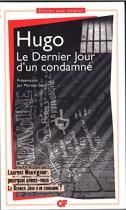 """Couverture du livre : """"Le dernier jour d'un condamné"""""""