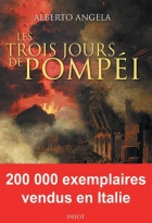 """Couverture du livre : """"Les trois jours de Pompéi"""""""