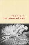 """Couverture du livre : """"Une présence idéale"""""""