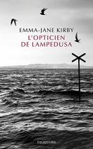 """Couverture du livre : """"L'opticien de Lampedusa"""""""