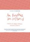 """Couverture du livre : """"Au bonheur des lettres II"""""""
