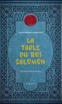 """Couverture du livre : """"La table du roi Salomon"""""""