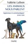 """Couverture du livre : """"Les animaux nous parlent"""""""