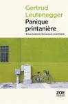"""Couverture du livre : """"Panique printanière"""""""