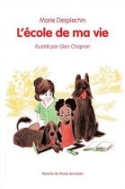 """Couverture du livre : """"L'école de ma vie"""""""