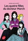 """Couverture du livre : """"Les quatre filles du docteur March"""""""