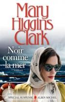 """Couverture du livre : """"Noir comme la mer"""""""