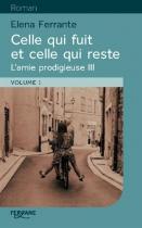 """Couverture du livre : """"Celle qui fuit et celle qui reste"""""""