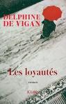 """Couverture du livre : """"Les loyautés"""""""