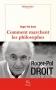 """Couverture du livre : """"Comment marchent les philosophes ?"""""""