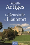 """Couverture du livre : """"La demoiselle de Hautefort"""""""