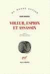 """Couverture du livre : """"Voleur, espion et assassin"""""""