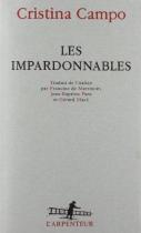 """Couverture du livre : """"Les impardonnables"""""""