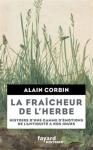 """Couverture du livre : """"La fraîcheur de l'herbe"""""""