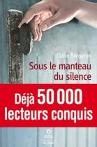"""Couverture du livre : """"Sous le manteau du silence"""""""