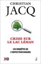 """Couverture du livre : """"Crime sur le Lac Léman"""""""