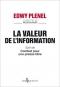 """Couverture du livre : """"La valeur de l'information"""""""